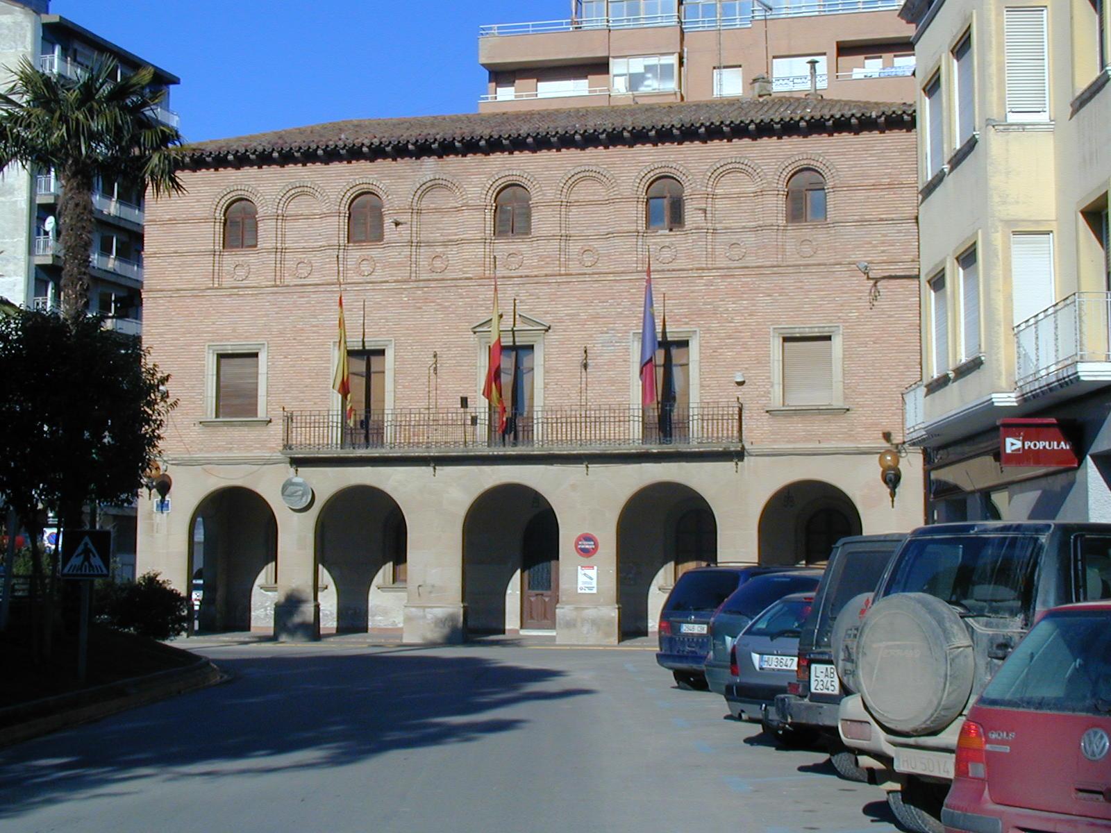 Antiguo Ayuntamiento. Vista frontal.