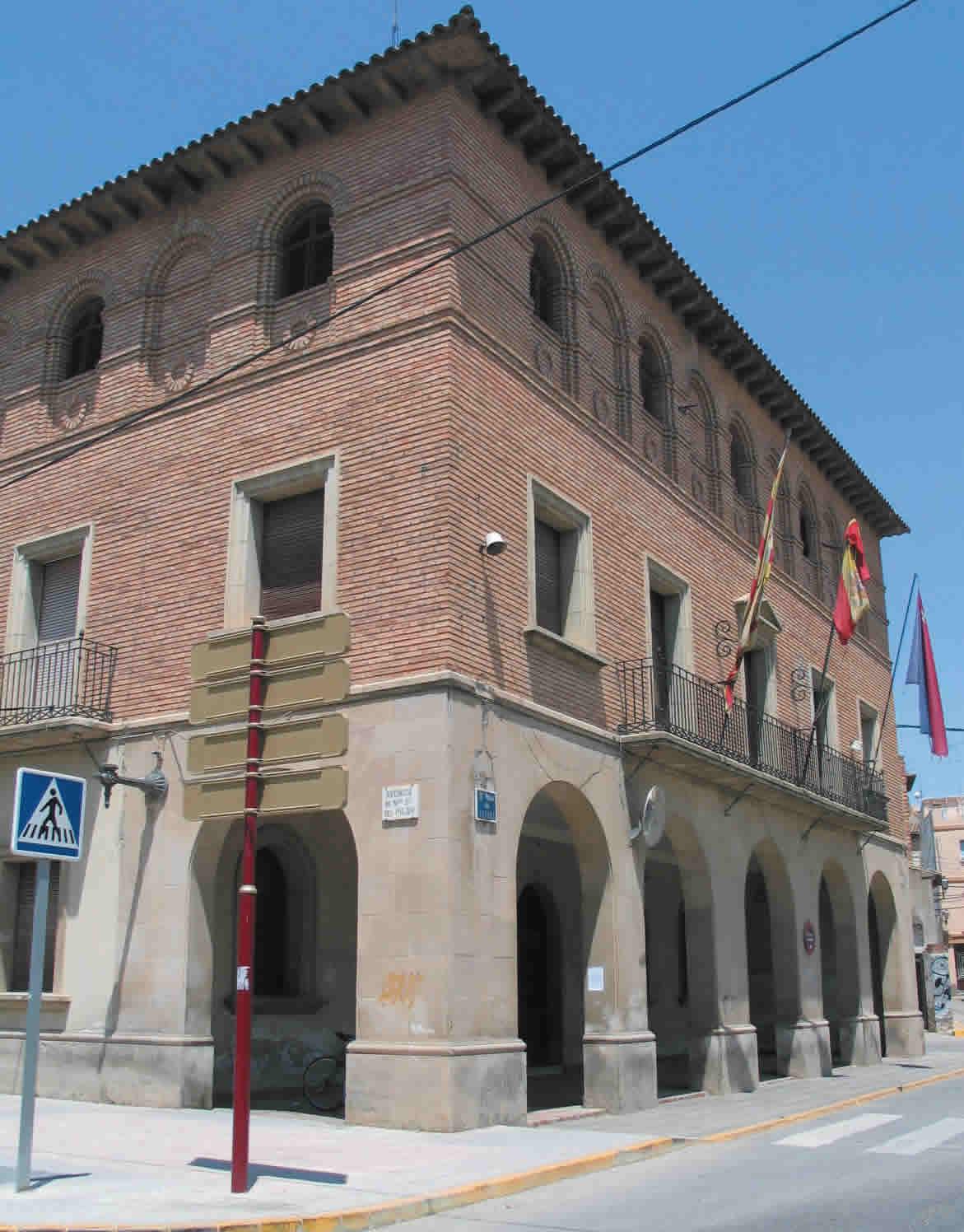 Antiguo Ayuntamiento. Vista lateral.
