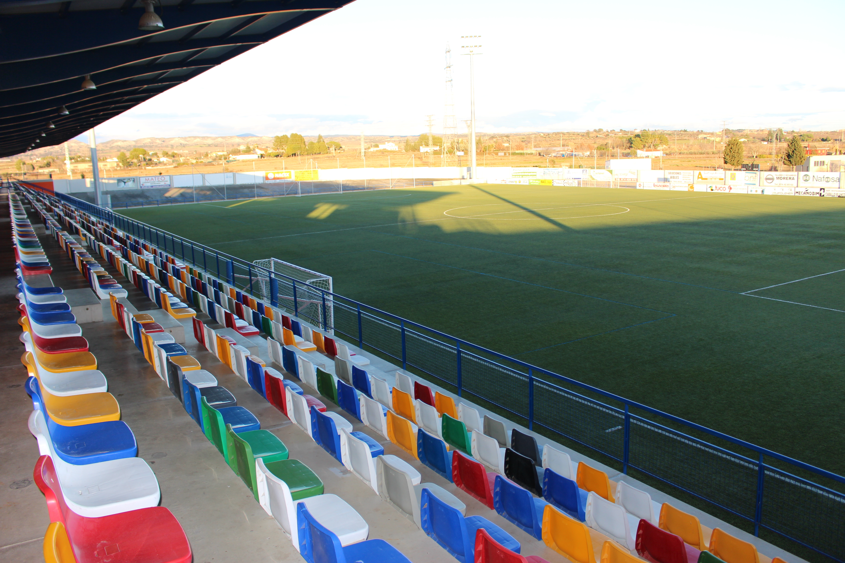 Instalaciones campo de fútbol.