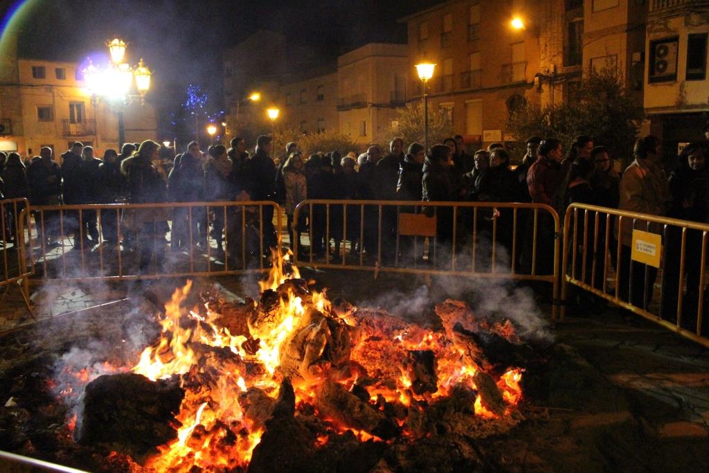 Hoguera San Quílez, fiestas de invierno.