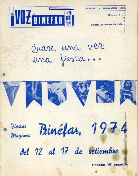 Año 1974.