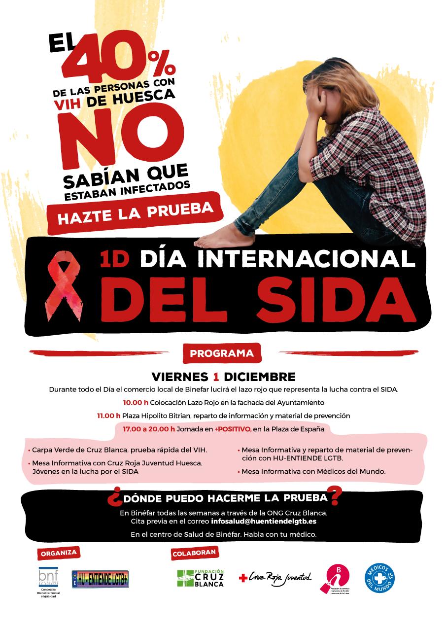 El Ayuntamiento se suma al Día Internacional contra el SIDA con mesas informativas y pruebas rápidas de VIH