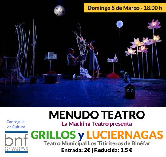 Menudo Teatro - Grillos y Luciérnagas