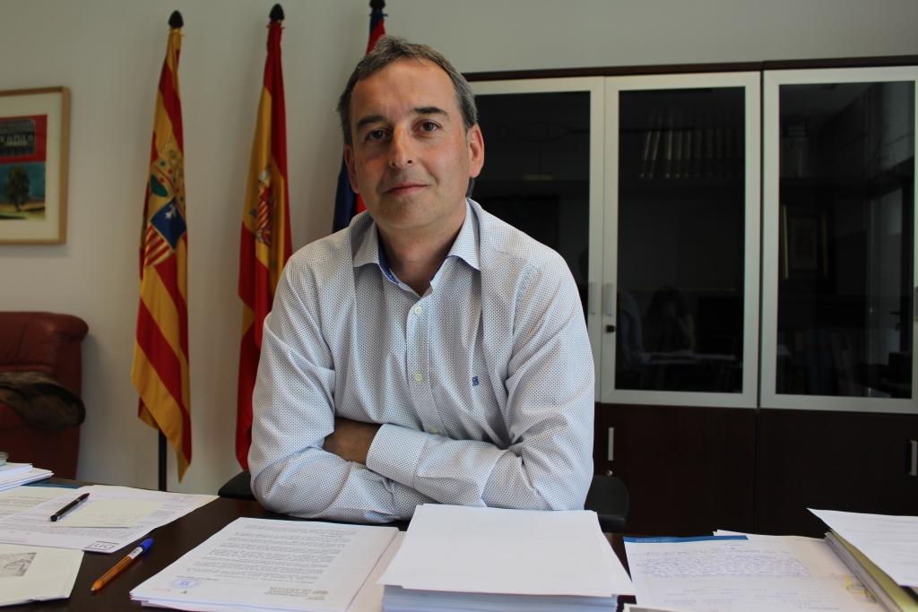 La licitación de las obras del nuevo colegio de Binéfar es acogida con gran satisfacción por el alcalde Alfonso Adán
