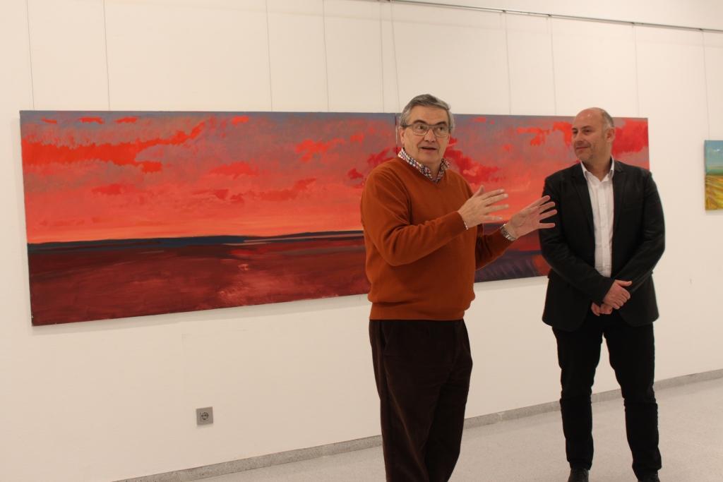 Fernando Alvira expone en Binéfar