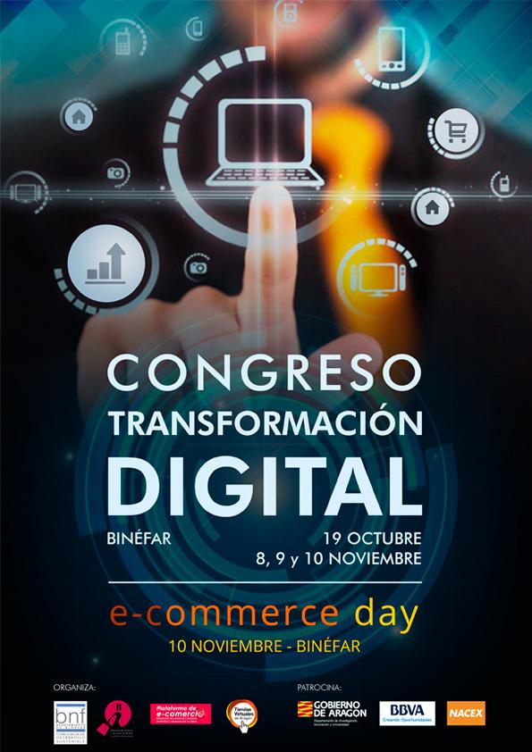 Todo listo en Binéfar para celebrar la fiesta del comercio electrónico del 8 al 10 de noviembre