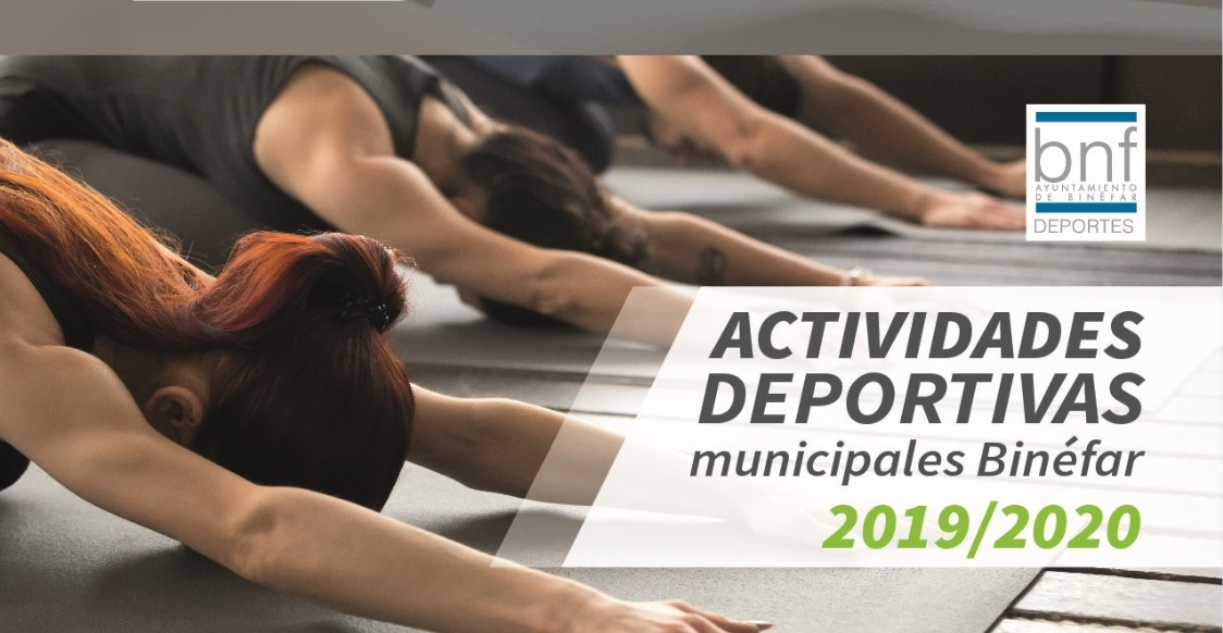 Actividades deportivas curso 2019-2020