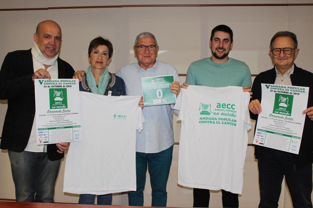La AECC de Binéfar vuelve a andar contra el cáncer