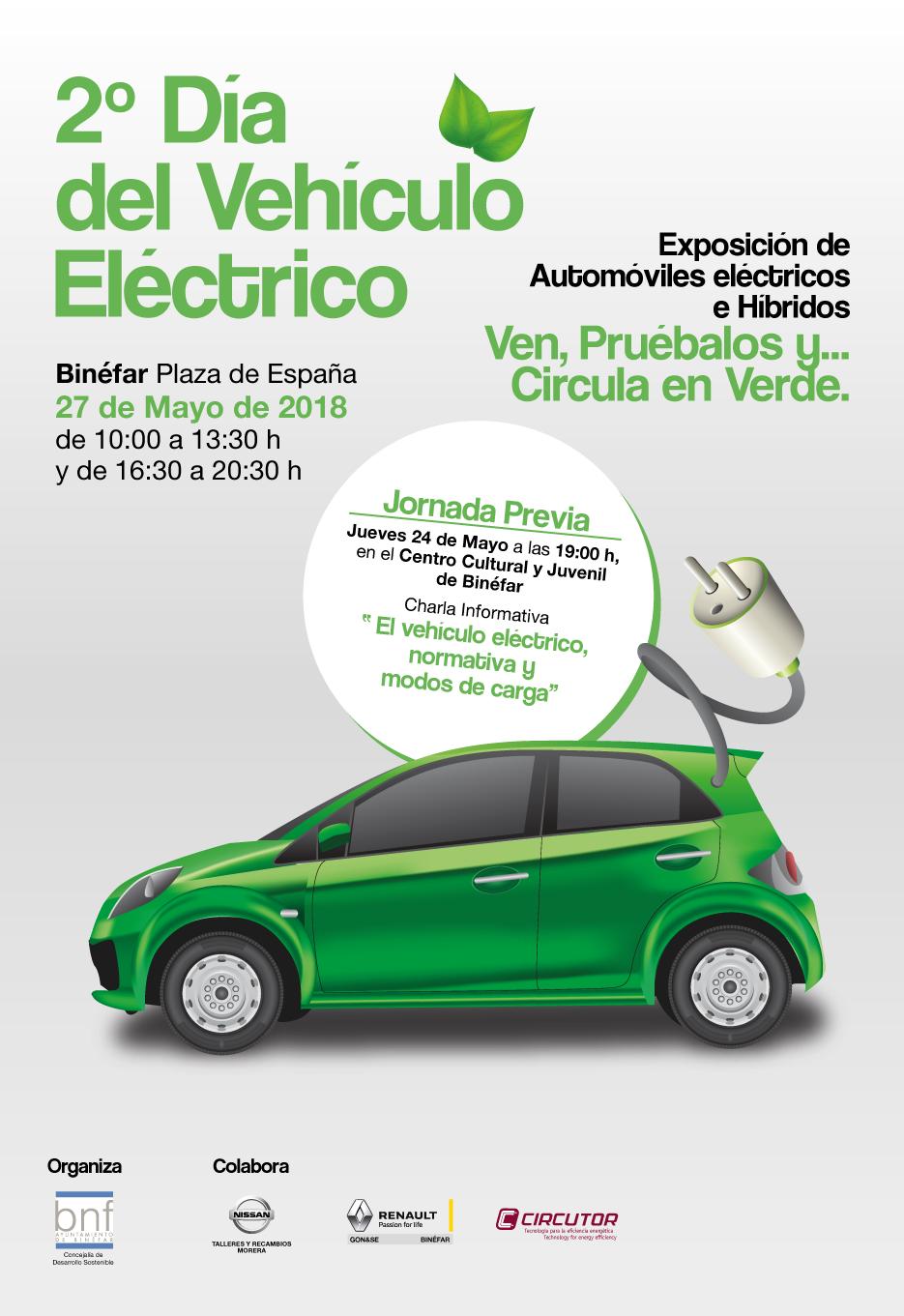Cartel Vehículo Eléctrico 2018