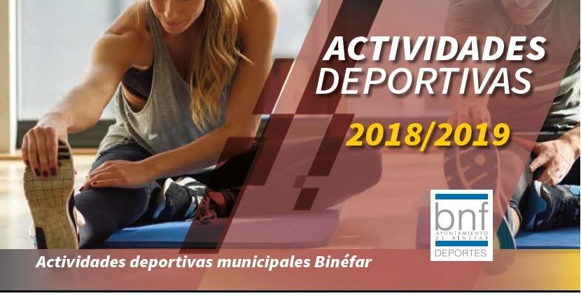 Se abre la inscripción para las actividades deportivas