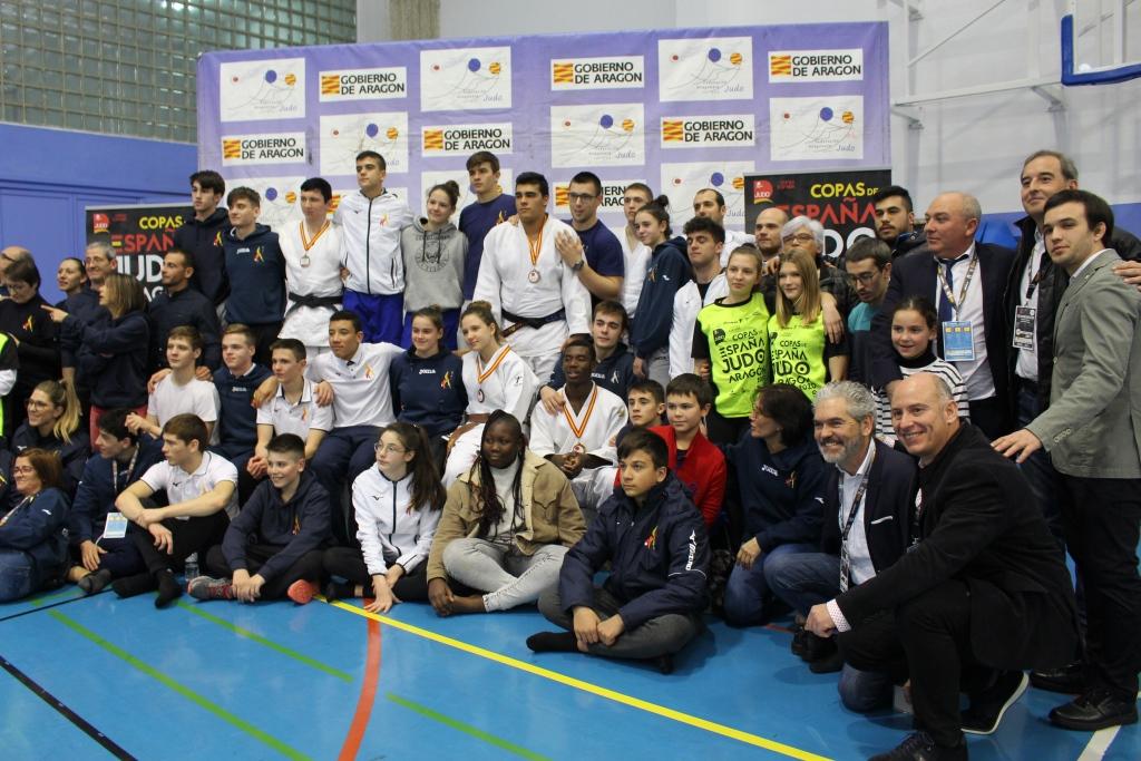 Éxito rotundo de la primera edición de la Copa de España Junior de Judo en Binéfar