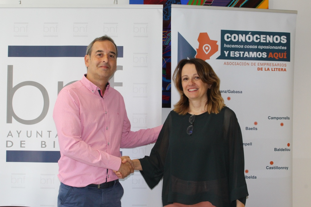 """El Ayuntamiento colaborará con el programa """"Conócenos"""" de la Asociación de Empresarios de la Litera"""