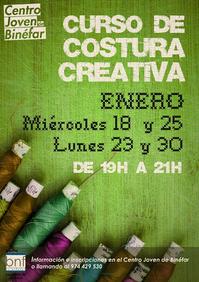 Curso de Costura creativa