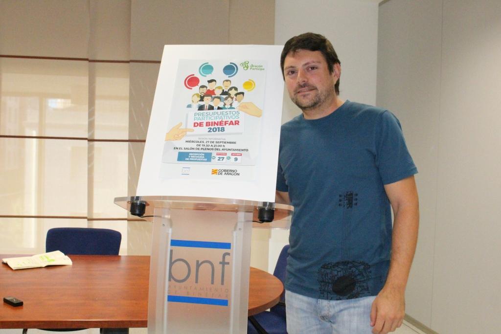 El presupuesto participativo de Binéfar amplía la gama de proyectos que se pueden proponer