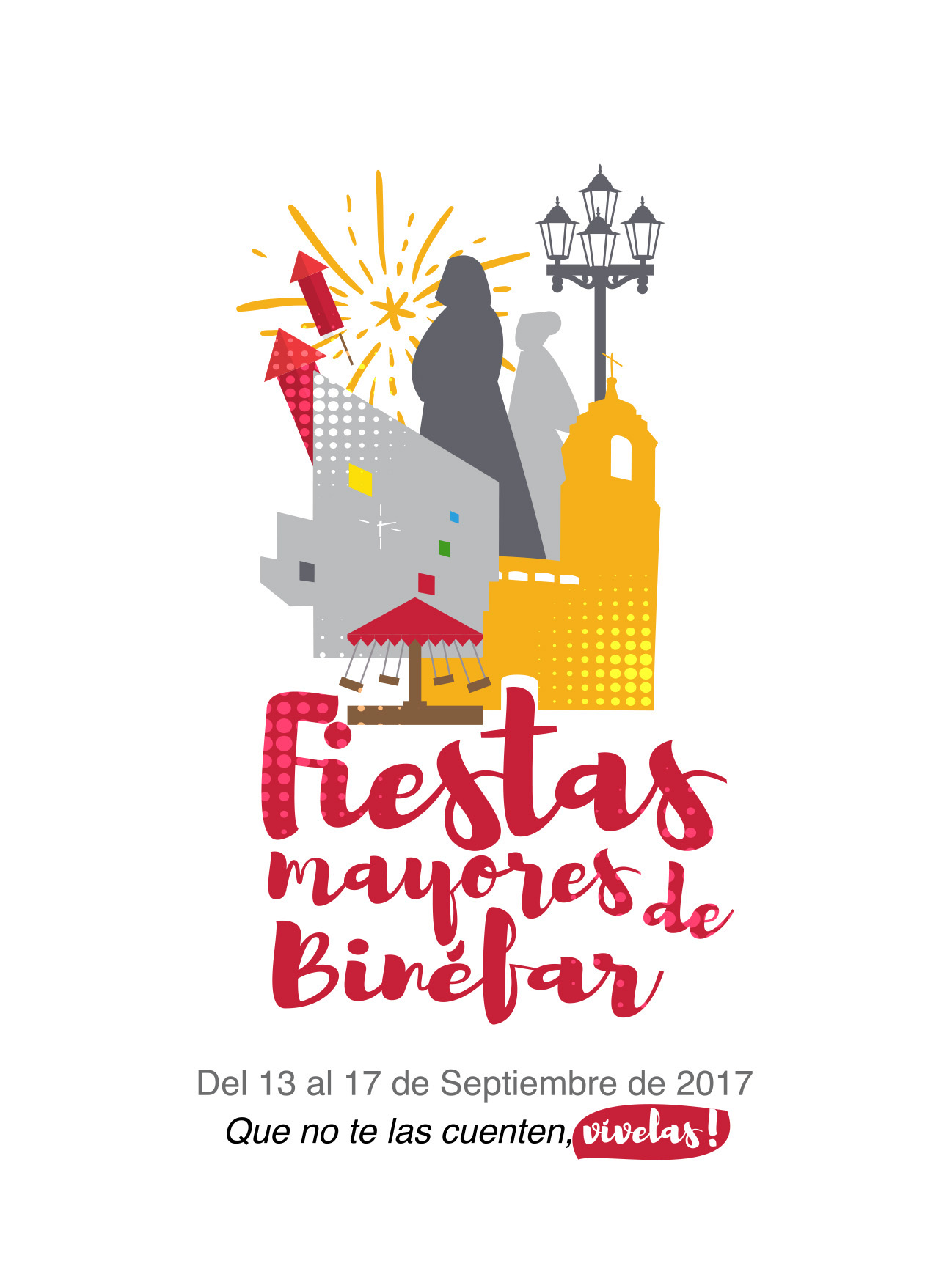 Programa Fiestas Mayores Binéfar 2017