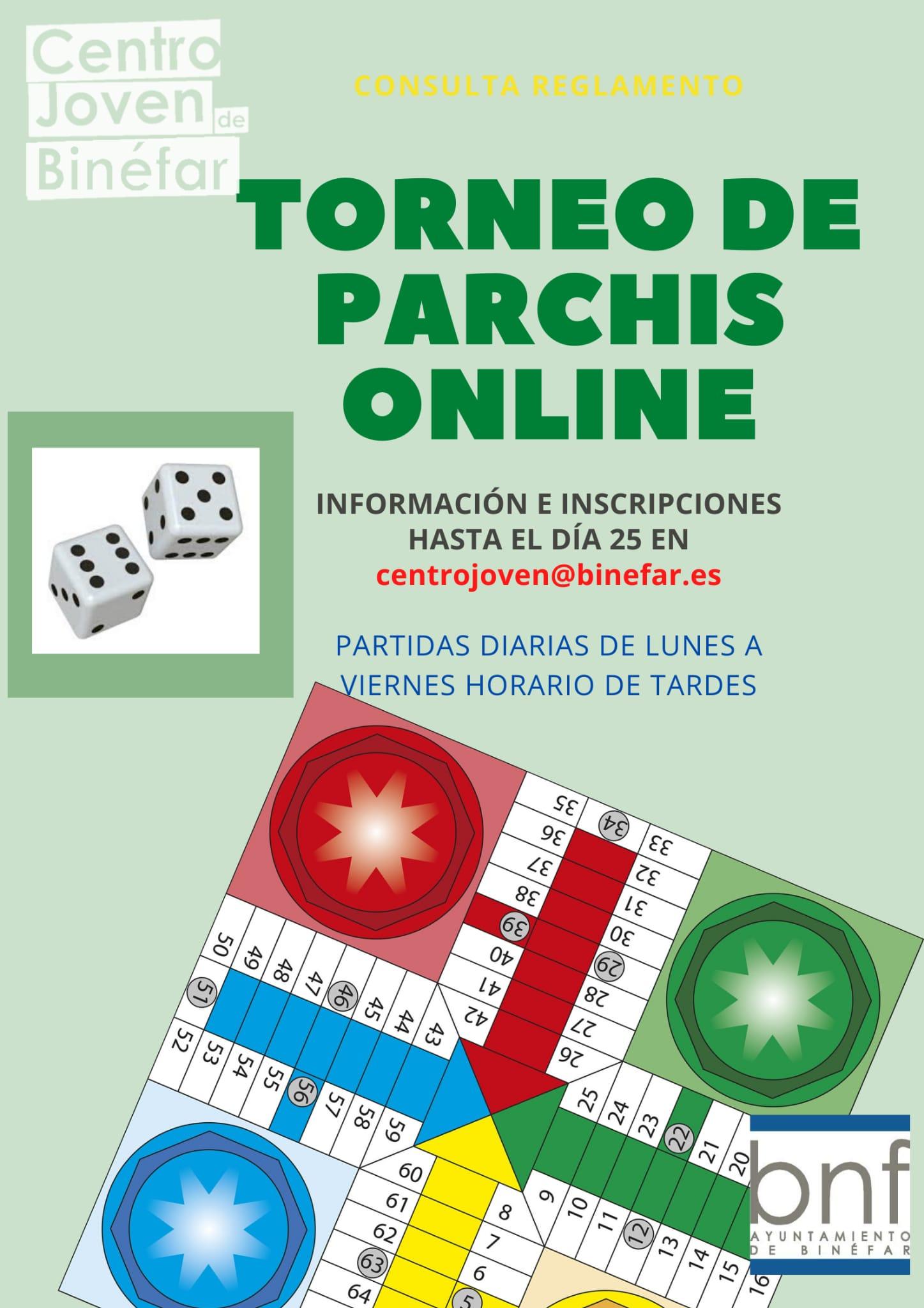 Torneo de pachís 'online'