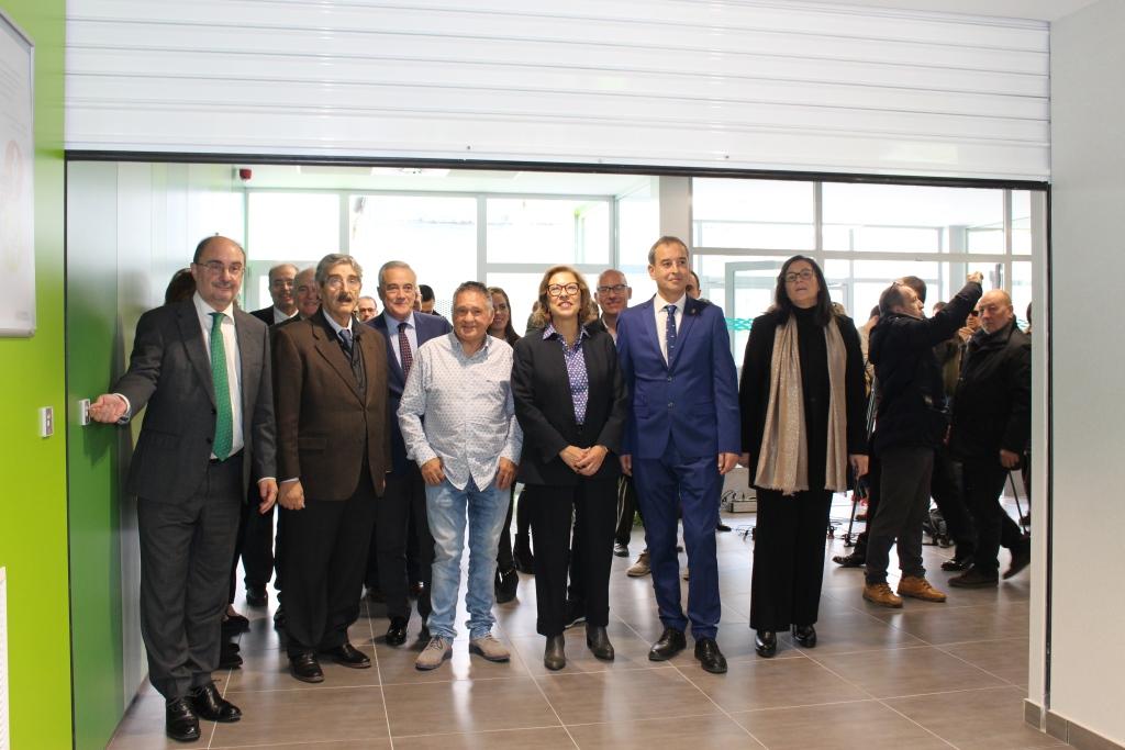 El alcalde de Binéfar celebra la inauguración y puesta en marcha del nuevo Centro de Salud
