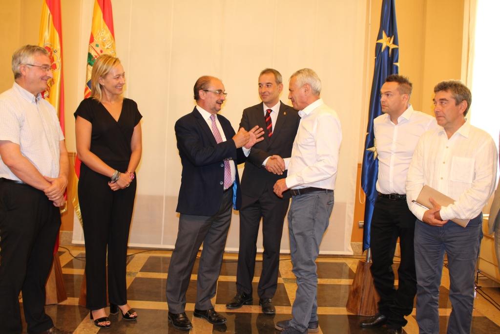 Alfonso Adán considera que la apertura de un nuevo matadero de porcino en Binéfar será un gran revulsivo para la economía local
