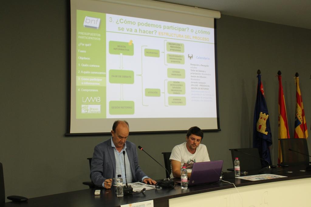 Arranca un nuevo proceso de presupuestos participativos en Binéfar
