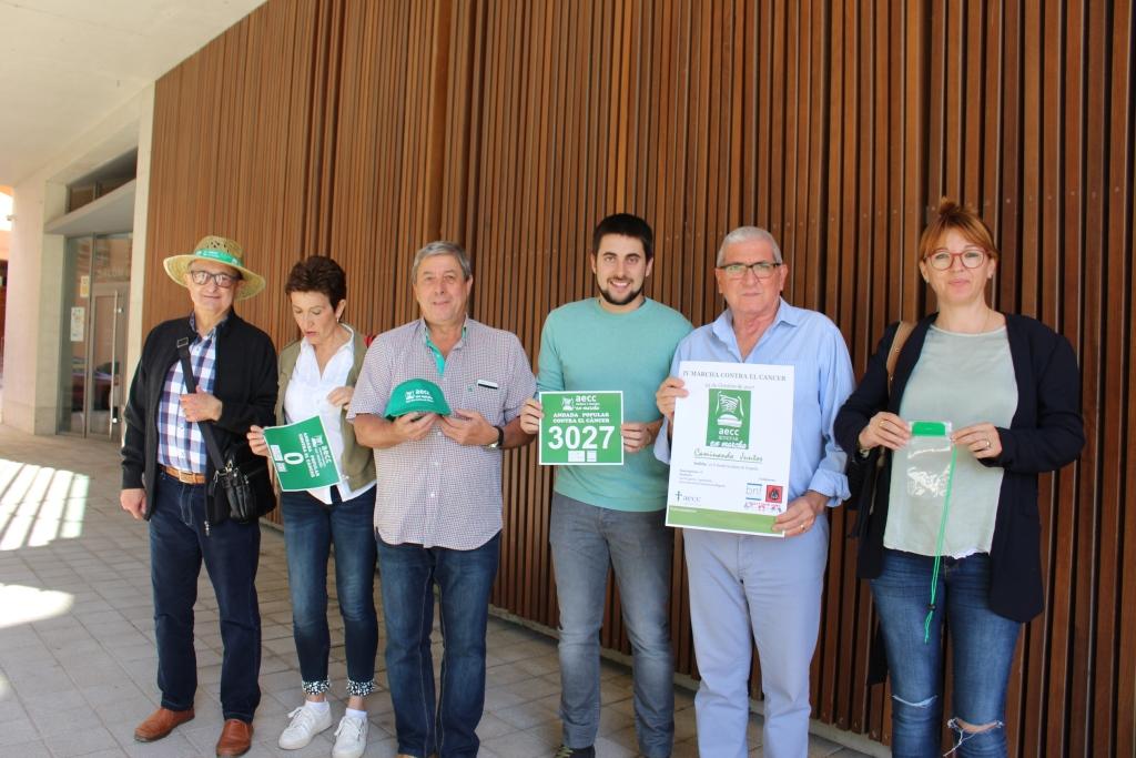 La AECC de Binéfar hace una fiesta de la marcha contra el cáncer