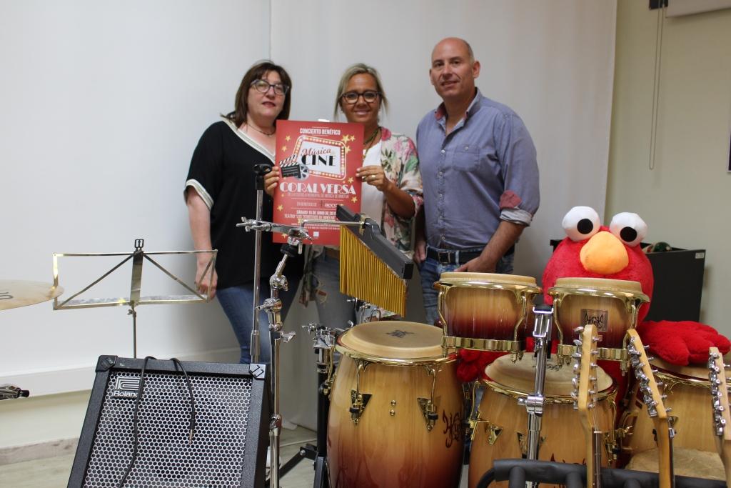 La Coral Versa, de la Escuela Municipal de Música, ofrecerá un concierto en beneficio de la AECC de Binéfar y comarca