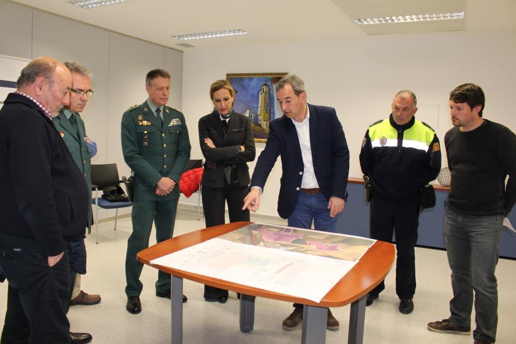 Binéfar continúa desarrollando su plan estratégico con una mesa sectorial de seguridad