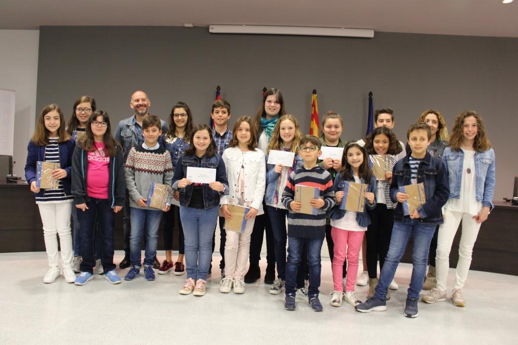 Entregados los premios del II Concurso Escolar de Cuentos