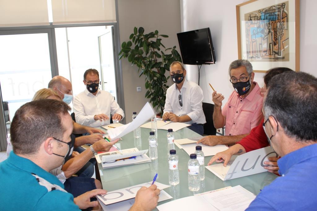 Binéfar y Portet sur Garonne sientan las bases para reforzar el hermanamiento entre ambas localidades
