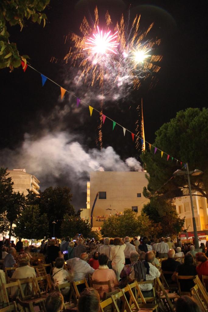 Las fiestas de Binéfar se clausuraron con mucha participación y sin incidentes reseñables