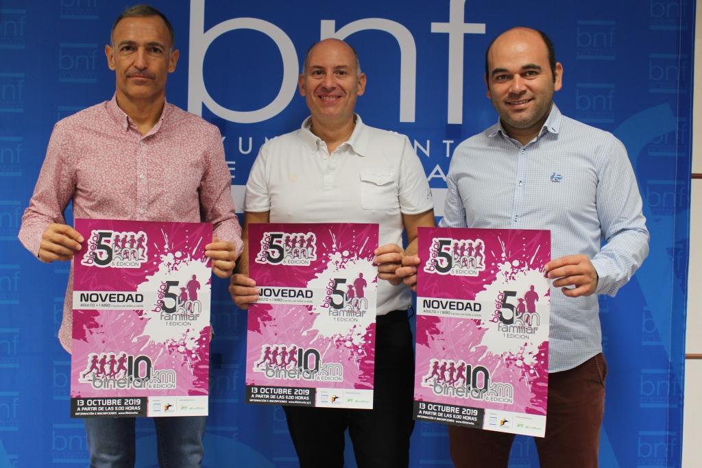 La carrera 10 km, 5 km y 5 km familiar de Binéfar prolonga la inscripción 'online' hasta el 10 de octubre
