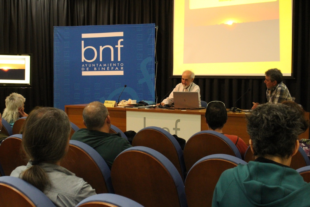 Los expertos que participan en las jornadas sobre agricultura de transición en Binéfar apuestan por recuperar la diversidad