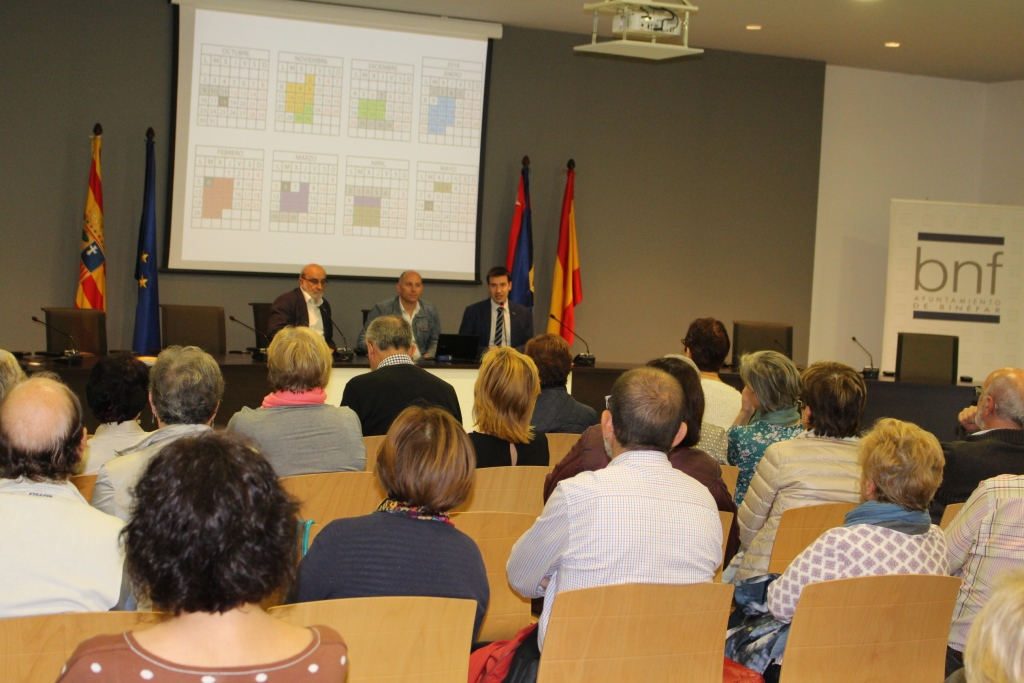La Universidad de la Experiencia comienza el curso en Binéfar con 84 alumnos