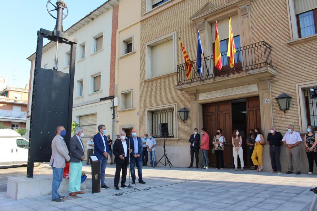 Binéfar conmemora con una exposición los 125 años del mitin que impulsó la construcción del Canal de Aragón y Cataluña