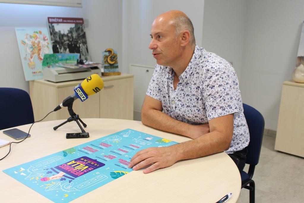 """""""Veranos en la Villa 2019"""" propone un agosto con mucha música en Binéfar"""