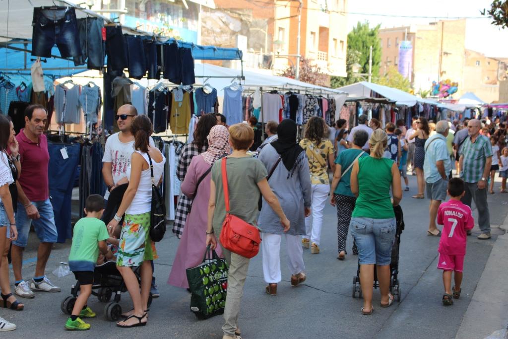 El mercado mensual de Binéfar se celebrará el día 9 de septiembre
