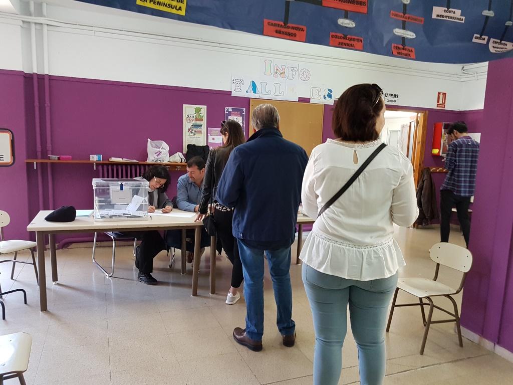 Casi 6.700 binefarenses están llamados a las urnas el próximo domingo 26 de mayo