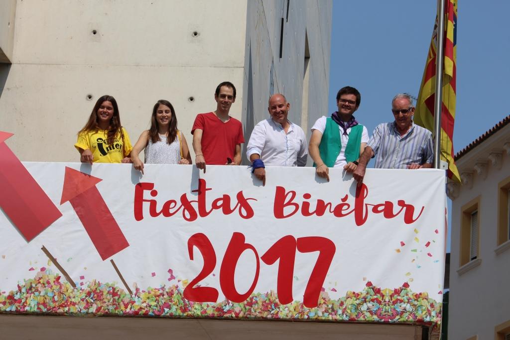 Las fiestas mayores de Binéfar refuerzan su programa