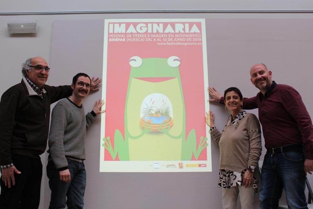 El Festival Imaginaria 2018 ha presentado su imagen, con una versión más de la rana