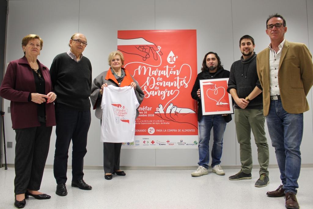 La X Maratón de Donantes de Sangre de Binéfar llama a la solidaridad