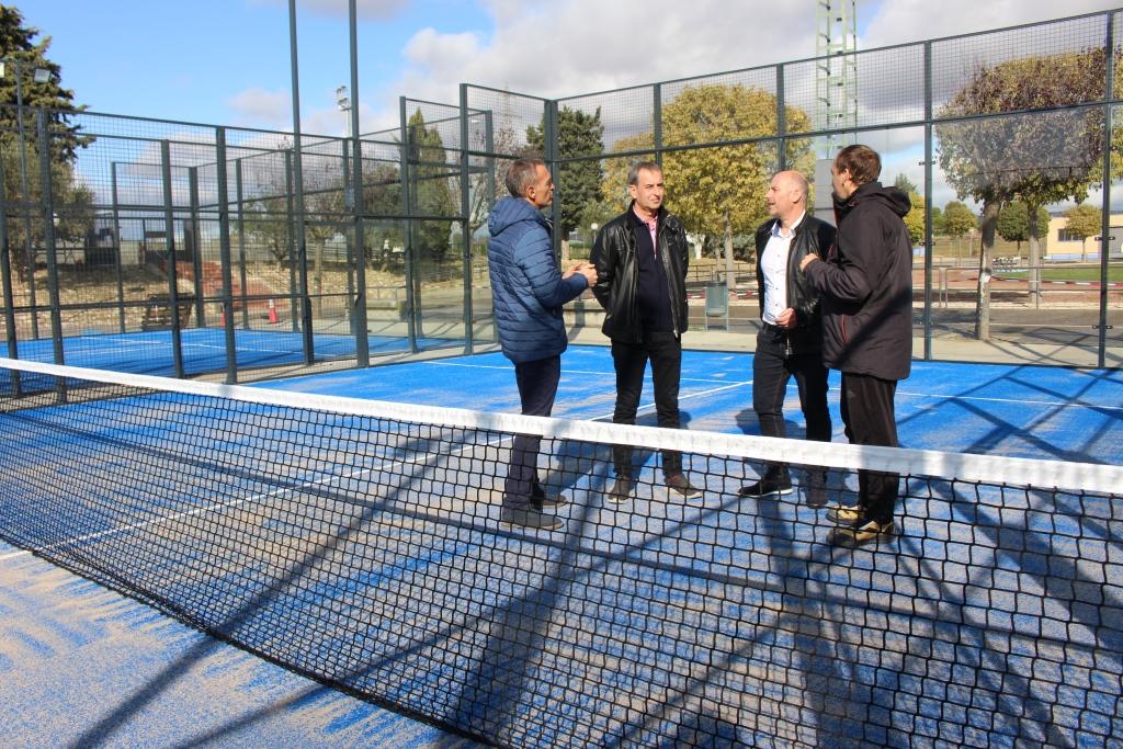 El Ayuntamiento presenta las nuevas pistas de pádel con un periodo de puertas abiertas de quince días