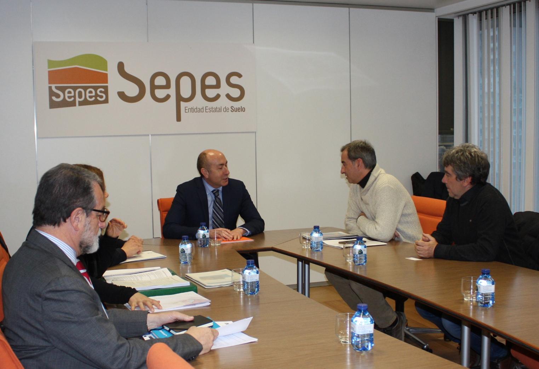 Binéfar se prepara para ampliar de nuevo el polígono industrial El Sosal con el concurso de SEPES