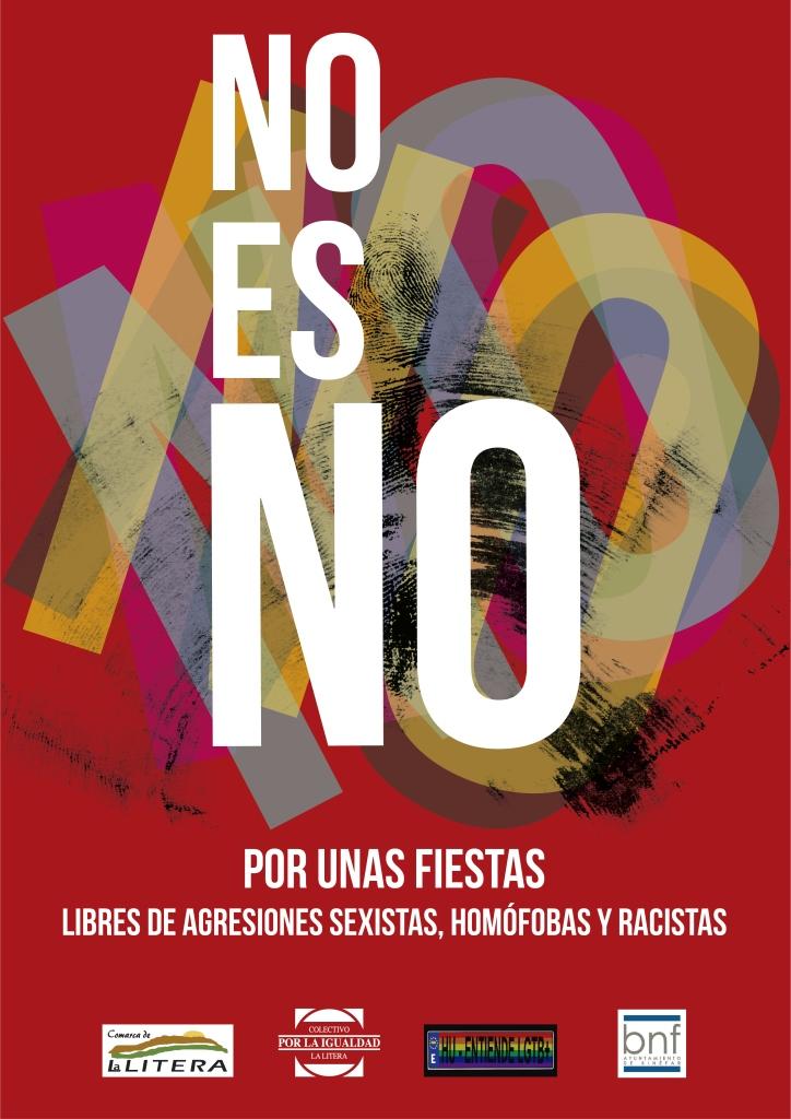 La campaña 'No es No' llega a Binéfar en fiestas