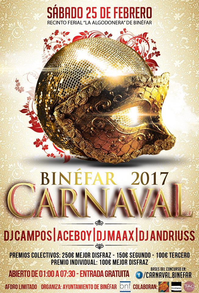 Carnaval Binéfar 2017