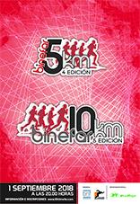 Cartel 10 y 5 km 2018