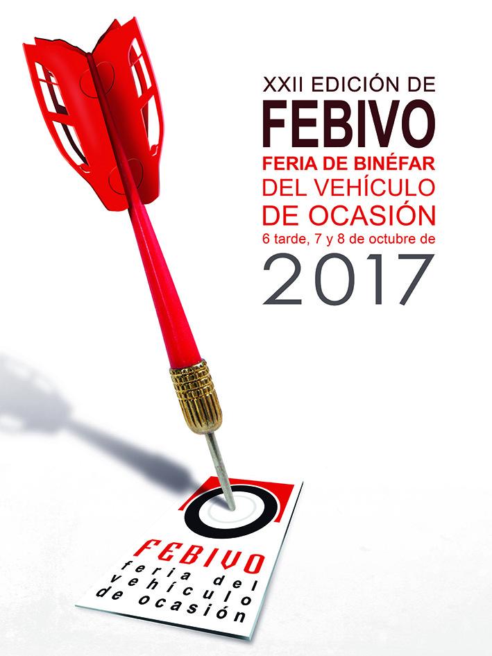 El diseñador Cristóbal Aguiló gana el premio del cartel anunciador de Febivo 2017