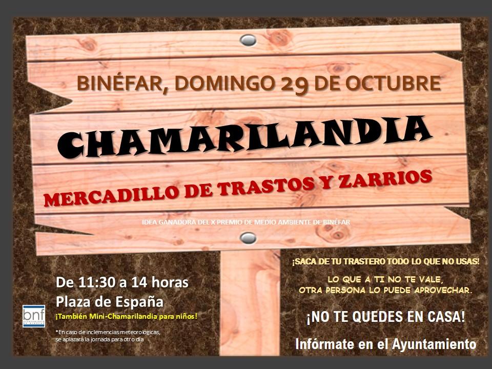 Abierto el plazo para inscribirse en Chamarilandia, el mercadillo de objetos usados que se celebrará en Binéfar
