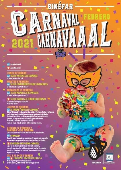 Carnaval en Binéfar del 8 al 14 de febrero