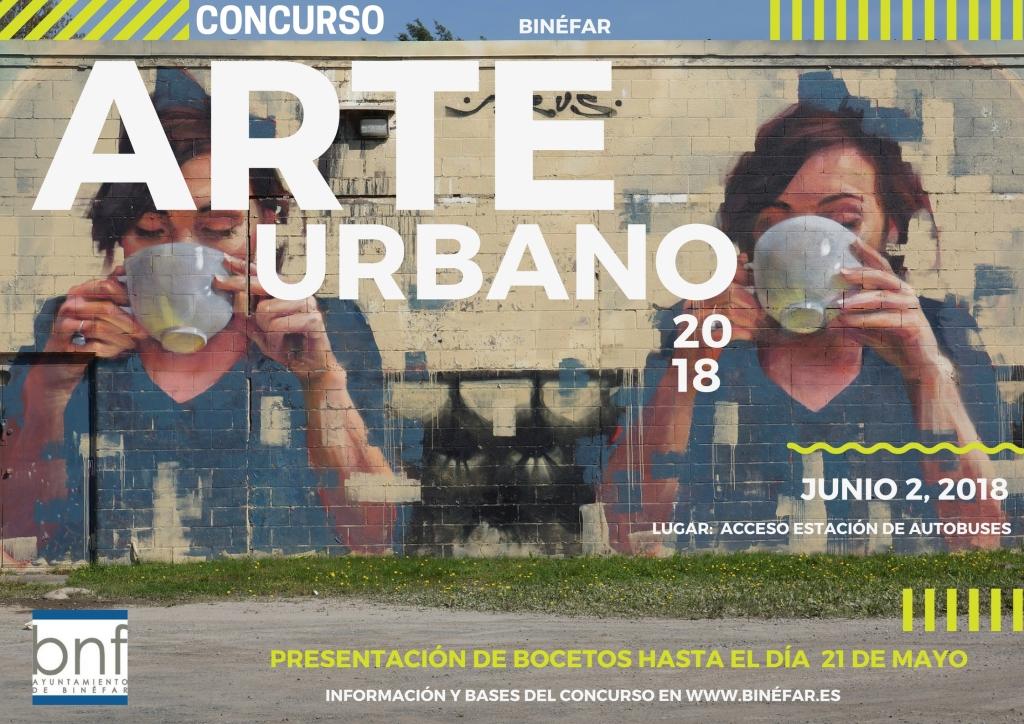 El Ayuntamiento de Binéfar lanza el I Concurso de Arte Mural para jóvenes