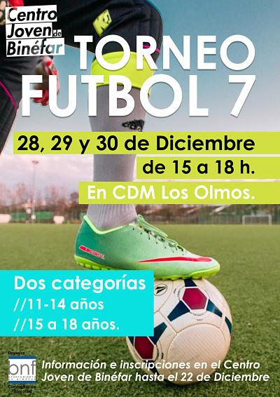 Torneo de Futbol 7 Navidad