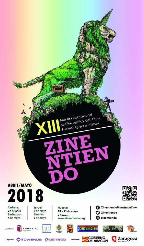 Zinentiendo, la muestra internacional de cine LGTBQI, llega por primera vez a Binéfar